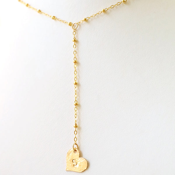 Bottom of Your Heart Necklace