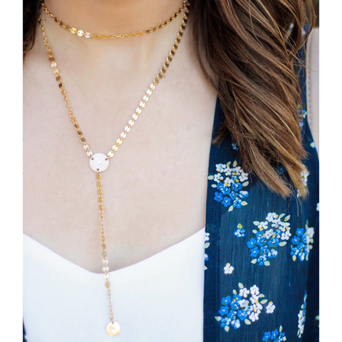 Taudrey Blogger Collection Courtney Inkpen That's Darling Necklace