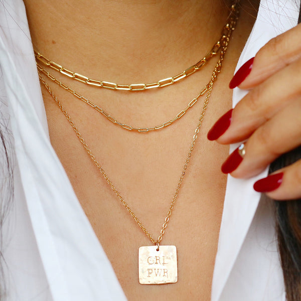 taudrey girl gang necklace