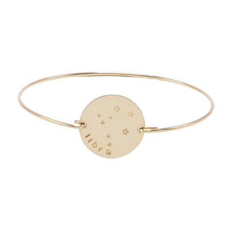 taudrey give me a sign hand stamped constellation bracelet