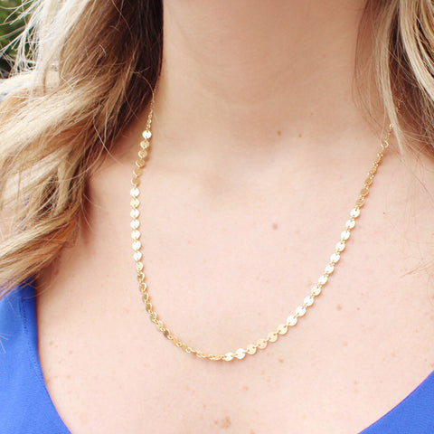 taudrey athena micro charm dainty necklace gold