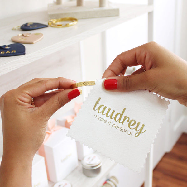 taudrey jewelry cloth wipe