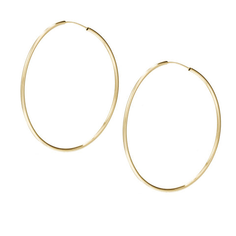 taudrey jump through hoops hoop earrings gold medium size
