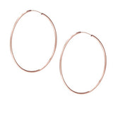 taudrey rose gold hoops jump through hoops