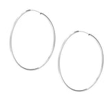 taudrey sterling silver hoops jump through hoops
