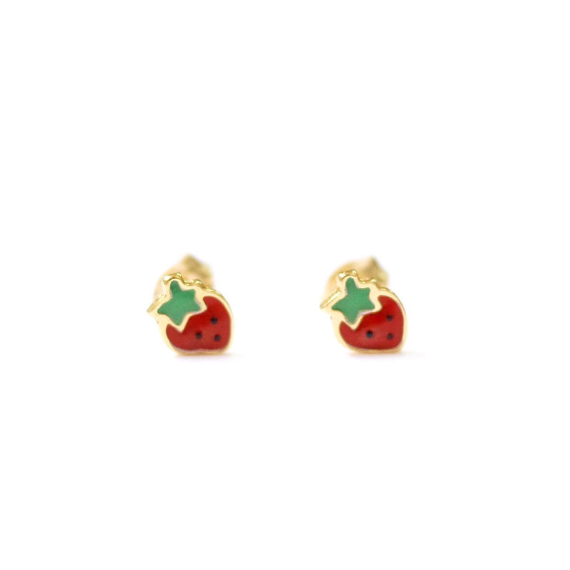 taudrey berry berry cute stud earrings