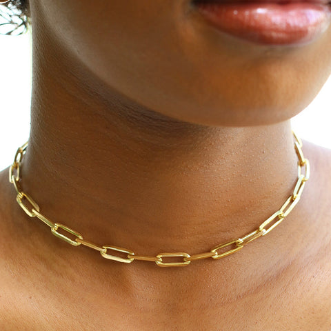 taudrey link together thick choker