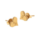 taudrey listen to your heart studs gold