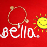 taudrey little sunshine live like bella bracelet gold beads personalized charm pearl child kid figure charm