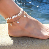 taudrey luli fama wild heart collection collaboration anklet set mermaid life
