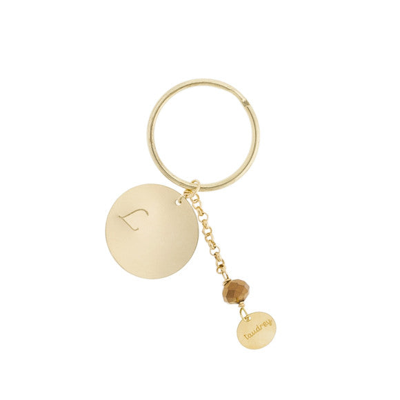 taudrey major key key chain large personalized charm