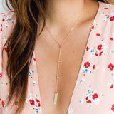 taudrey blogger collection olivia rodriguez hello olivia blog personalized gold bar hand stamped necklace