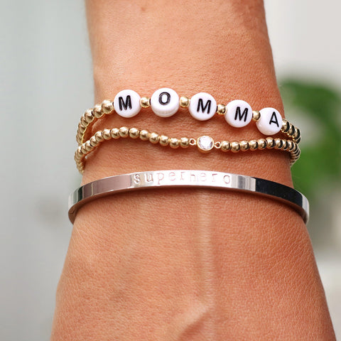 taudrey bracelet set mom fathers day single moms