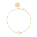 taudrey kids pearl of wisdom bracelet gold with pearl mommy and me
