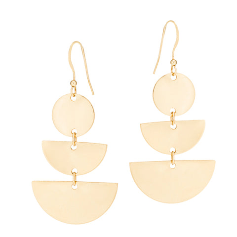 taudrey love your shape statement geometric personalized earrings