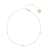 taudrey dainty meant to bead choker rose gold beads