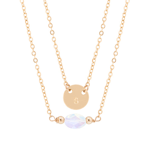 taudrey personalized jewelry pearly girl necklace lariat gold chain pearls