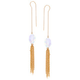 taudrey personalized jewelry pixie duster earrings gold opal statement