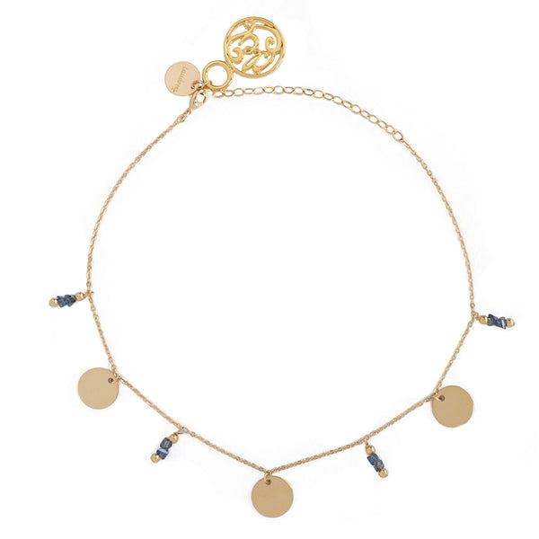 taudrey luli fama choker with personalized charms and pebble details gold rose gold