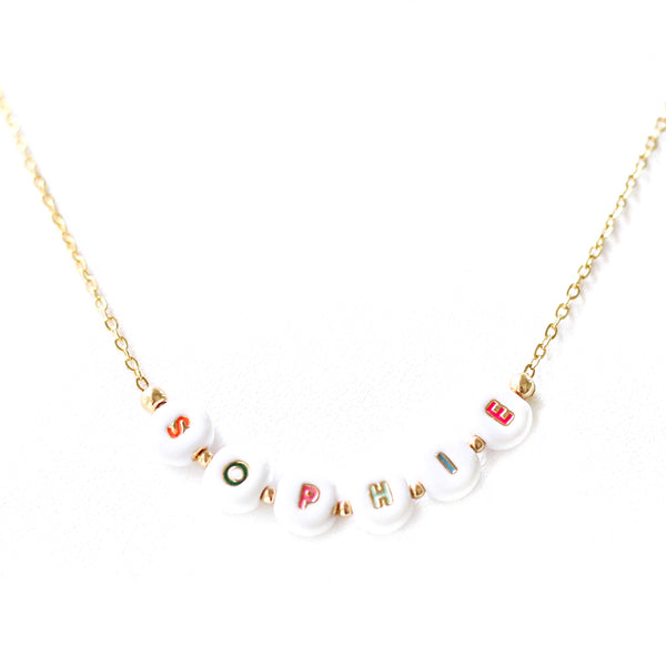 Show and Tell Necklace (Rainbow)