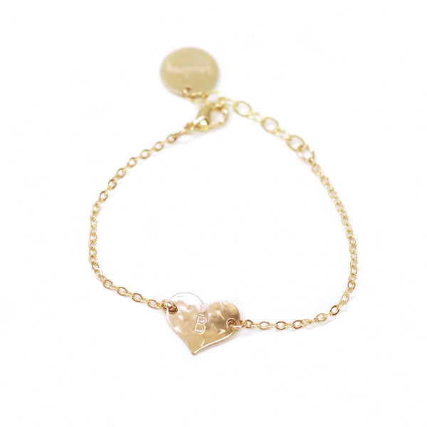 taudrey collab destiny thompson kids personalized heart bracelet