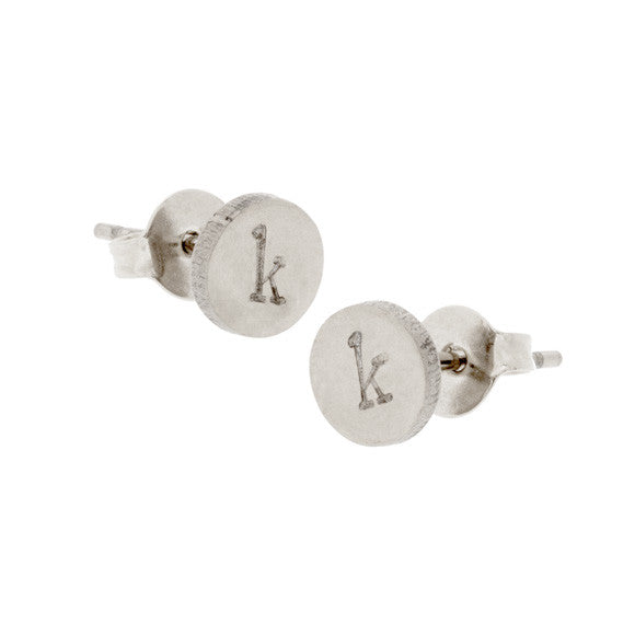 taudrey tell me about it studs silver stud earrings
