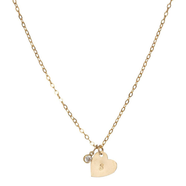 tenley molzahn leopold the bachelor taudrey jewelry collaboration shine collection adjustable gold necklace or choker with crystal detail and personalized heart charms
