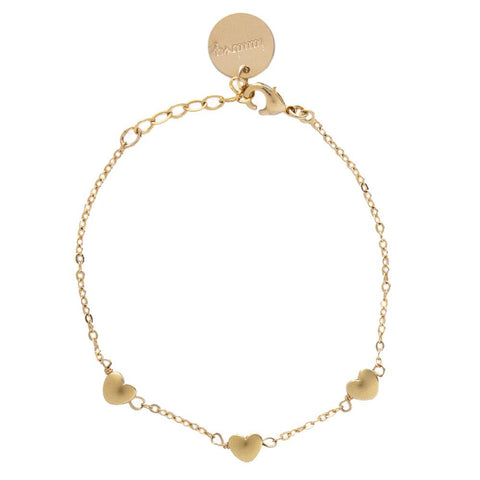 taudrey collab shine collection the bachelor tenley molzahn leopold little loves bracelet gold heart details