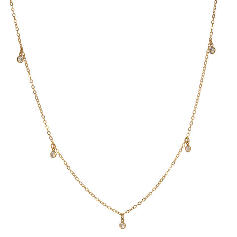 tenley molzahn leopold the bachelor taudrey jewelry collaboration shine collection gold choker necklace with dangling crystals