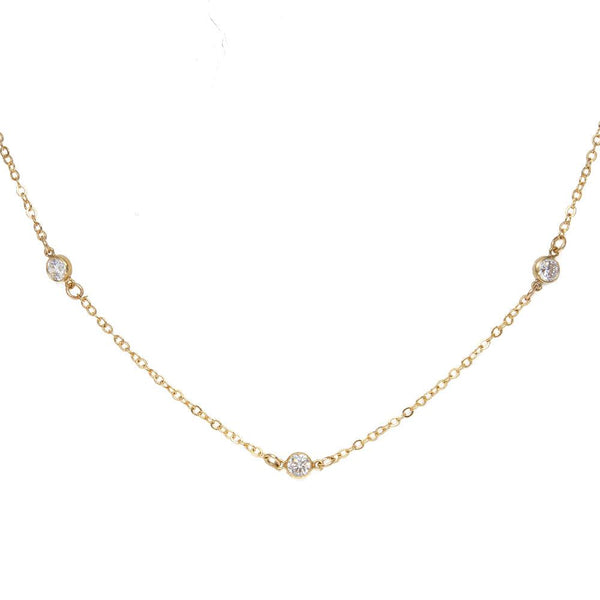 tenley molzahn leopold the bachelor taudrey jewelry collaboration shine collection handcrafted gold necklace three crystal details