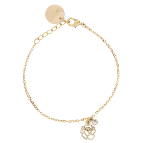 taudrey collab shine collection the bachelor tenley molzahn leopold this rose bracelet gold rose charm crystal detail