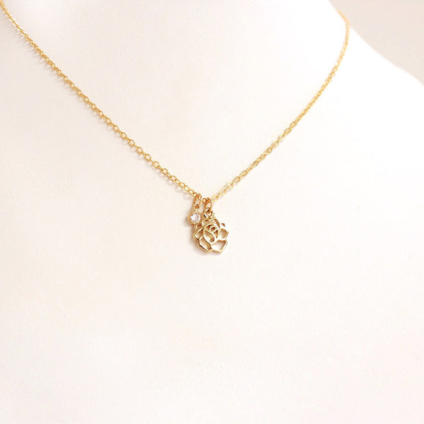 This Rose Necklace