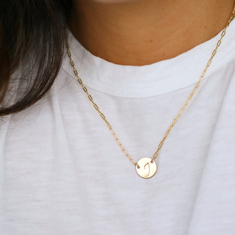 Unity Mini Coin Necklace
