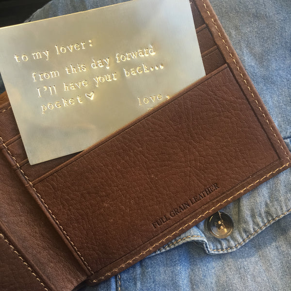 taudrey wallet keepsake customize