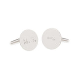 White Collar Cuff Links