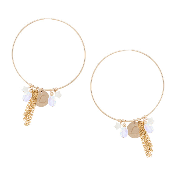 taudrey personalized jewelry works like a charm hoop earrings statement gold charm opal pearl stars