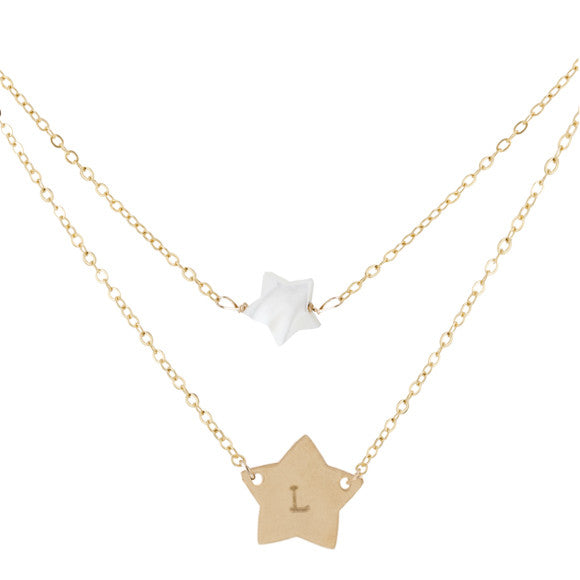 taudrey written in the stars personalized necklace