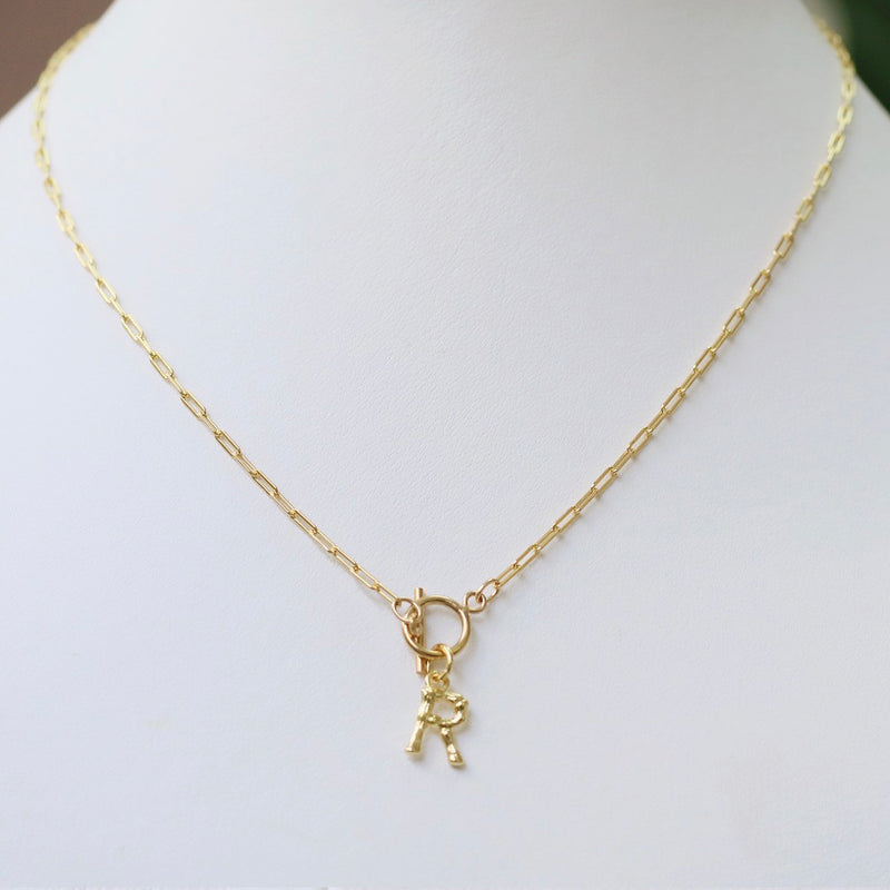 Lucky Letter Necklace