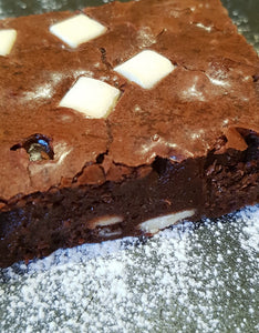 White Chocolate Chip Brownie