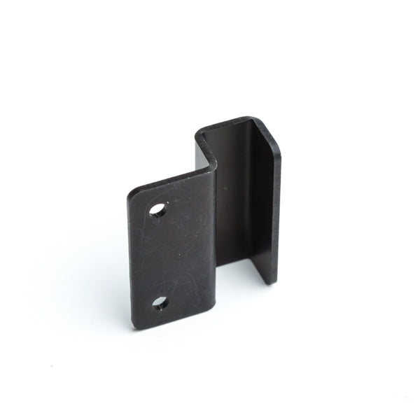015N Seat Horn Clip (single act) Black Anodised