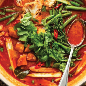 Vegan Thai Red Curry