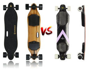 Electric Longboard: Armo board VS Backfire Galaxy G2s