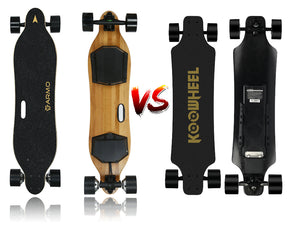 Armo Electric Skateboard VS Koowheel Electric Skateboard: Which is better?
