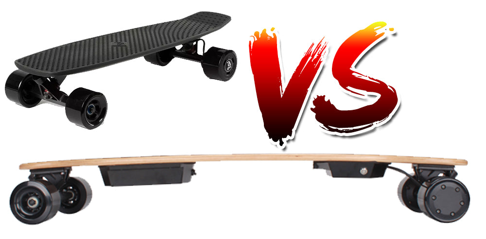 armo board electric skateboard vs lou board