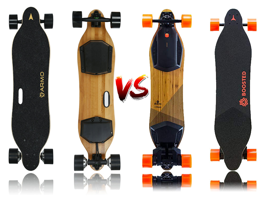 Armo board electric skateboard vs boosted board