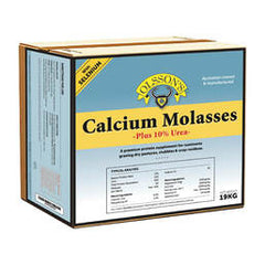 Calcium Molasses + 10% Urea  Block 19 kg