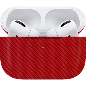 Normout Skin Carbon Red | Apple Airpods Pro | Normout.com