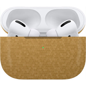 Normout Skin Honeycomb Gold | Apple Airpods Pro | Normout.com