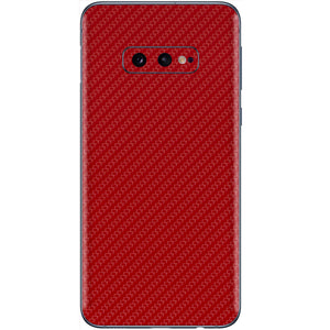 Normout Skin Carbon Red | Samsung Galaxy S10e | Normout.com