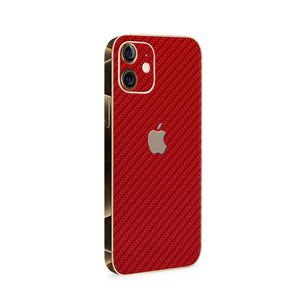 Normout Skin Carbon Red | Apple iPhone 12 Mini Skin | Normout.com